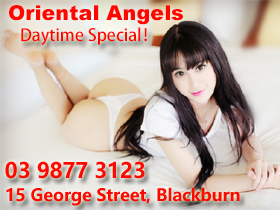 Melbourne brothel adult service Oriental Angels