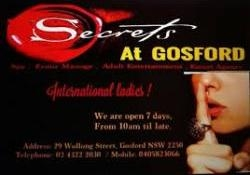 SECRETS AT GOSFORD - Gosford Brothel thumbnail version 1